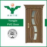 Neue Entwurfs-Qualität Belüftung-hölzerne Tür MDF-Tür mit Glas
