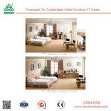 Moderne Hotel-Schlafzimmer-Möbel-festes Holz-Schlafzimmer-Möbel-europäisches Art-Schlafzimmer-Set