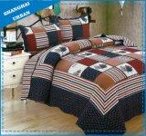 قطر طبعة لحاف ترقيع سرير تغطية مفرش