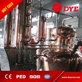 Qualitäts-Edelstahl-roter kupferner Spiritus-Destillierapparat mit Rückfluss-Aufsatz