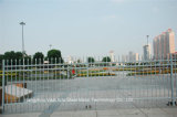 Rete fissa d'acciaio galvanizzata obbligazione residenziale industriale grigia elegante 15 di Haohan