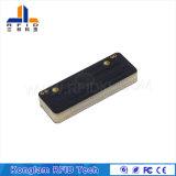Escritura de la etiqueta electrónica del Anti-Metal de RFID con el material Fr4