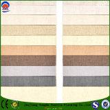 Tela impermeável tecida matéria têxtil das cortinas de rolo do franco da tela de linho do poliéster da tela para o sofá e a cortina