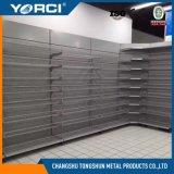Unidad de la estantería de la visualización del estante del supermercado del acero frío para los departamentos