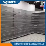 Estantería de exhibición de estantería de supermercado de acero frío para tiendas