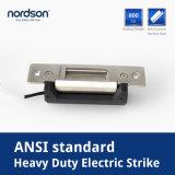 Lourd-Rendement-Type grève électrique de sécurité normale de norme ANSI avec le signal