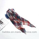 Шарф проверки классических шерстей зимы имитационный сплетенный (HP20)