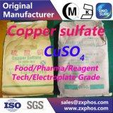 Solfato di rame per la tintura, fungicida, reagente analitico