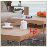 Tabela moderna do canto da tabela do lado da tabela de console da mesa de centro da mobília do hotel da mobília da HOME da mobília do aço inoxidável da tabela da mobília da tabela de chá (RS161001)