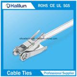 Edelstahl-Schaltklinke Lokt Kabelbinder für die Schlauch-Bündelung