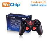 Palanca de mando para 2 jugadores, regulador S3 del USB de la luz de la PC del USB