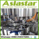 Chaîne de production recouvrante remplissante d'eau potable complète automatique