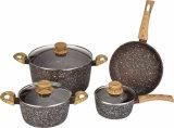La cocotte en terre en aluminium modifiée avec Bois-Regardent des traitements
