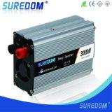 с инвертора силы автомобиля инвертора 12V 220V 50Hz 300W силы решетки доработанный инвертор волны синуса с заряжателем автомобиля
