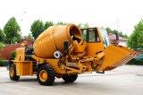 HaiqinのブランドのSelf-Loadingシステムが付いている移動式具体的なミキサーのトラック(HQ400)