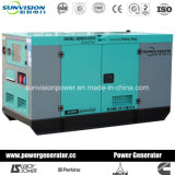 電気通信アプリケーションのための10kVA Yanmarの極度の無声ディーゼル発電機