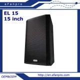 耐久の音響設備の専門のスピーカー(EL 15)