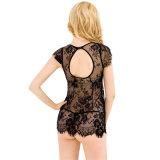 A roupa interior a mais nova das mulheres quentes de Blacksexy do laço da venda para a senhora
