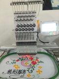 Bordado liso principal do t-shirt do tampão de Wonyo a máquina industrial Tajima do bordado do único projeta o preço de China