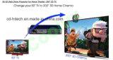 Beweglicher Handprojektor Coolux X6 mit Li-Ion8000mah batterie DLP-Link 3D 1080P