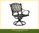 Silla de aluminio del patio de la silla al aire libre para los muebles al aire libre