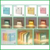 Migliore indicatore luminoso infrarosso intelligente di notte del sensore di qualità LED PIR sulla parete con Ce
