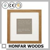 Квадратная естественная картинная рамка твердой древесины для домашнего украшения