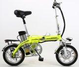 bicicleta a pilhas da cidade do lítio de 250W 36V