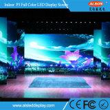 Écran de location d'intérieur de l'Afficheur LED P3 pour l'exposition de publicité polychrome
