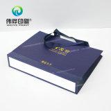 Мешок подарка печатание промотирования бумажный с штемпелевать логоса горячий
