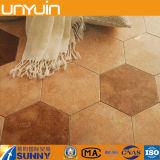 Carrelage utile durable de vinyle d'hexagone