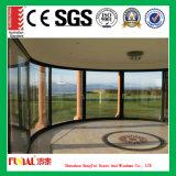 Aluminiumschweber-Tür durch den Hausbesitzer gewünscht