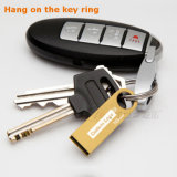 Do metal feito sob encomenda do logotipo do ouro mini Keyring USB3.0 Pendrive (YT-3295-02)