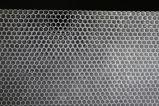Painel de favo de mel de plástico transparente