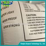 Sac d'air protecteur gonflable tissé par pp blanc de bois de calage de mémoire tampon d'amortisseur