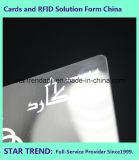 Cartões lustrosos da laminação com a listra magnética para a sociedade