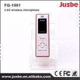 Fg-1001 de nieuwste Microfoon van de Leraren van het Ontwerp Draadloze Handbediende 2.4G