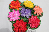 Grosser Größe Floaitng Lotos-Wholesale künstliche Lotos-Blumen