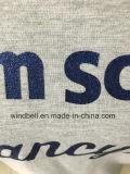 Glänzender grundlegender Terry-Schweiss-Pullover für Kinder mit Funkeln-Druck
