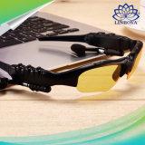 Mains libres sans-fil Stéréo Bluetooth Lunettes de soleil intelligentes Téléphone portable MP3 avec Mic Bluetooth Headset Goggles Lunettes de soleil