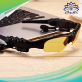 Teléfono móvil del MP3 de las gafas de sol elegantes estéreas sin manos sin hilos de Bluetooth con las gafas de sol de los anteojos del receptor de cabeza del Mic Bluetooth