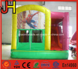 Kinderen Opblaasbare Combo van het Huis van de Sprong van jonge geitjes de Opblaasbare met Dia