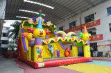 Гигантское скольжение клоуна цирка раздувное для коммерчески арендной пользы (CHSL478S)