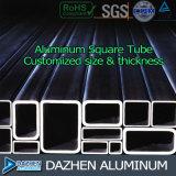 Bom perfil de alumínio da venda direta da fábrica do preço para a câmara de ar quadrada redonda