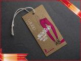 Напечатанная бирка одежды ценника бирки Hang одежды
