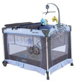 Second To bush-hammer Fashion Aluminum Simple Comfortable Playpen Baby