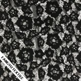 方法混合された花の女性のためのDress編むレースファブリック