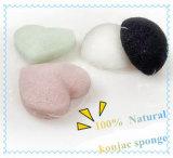 100% Natural Hot Sale Nettoyant pour le visage Konjac Sponge