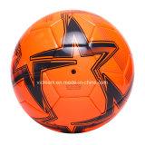 عال - مستوية مهتزّة لون [ثرملّي] يربط كرة قدم