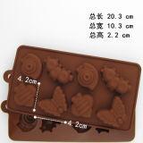 キャンデーのための別の形DIY型およびクッキーおよびチョコレート